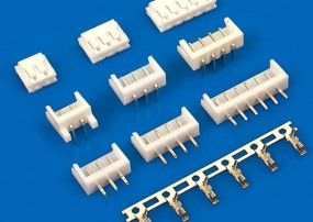 171825-4 Tyco Electronics 4 Pin Female Wafer Connectors