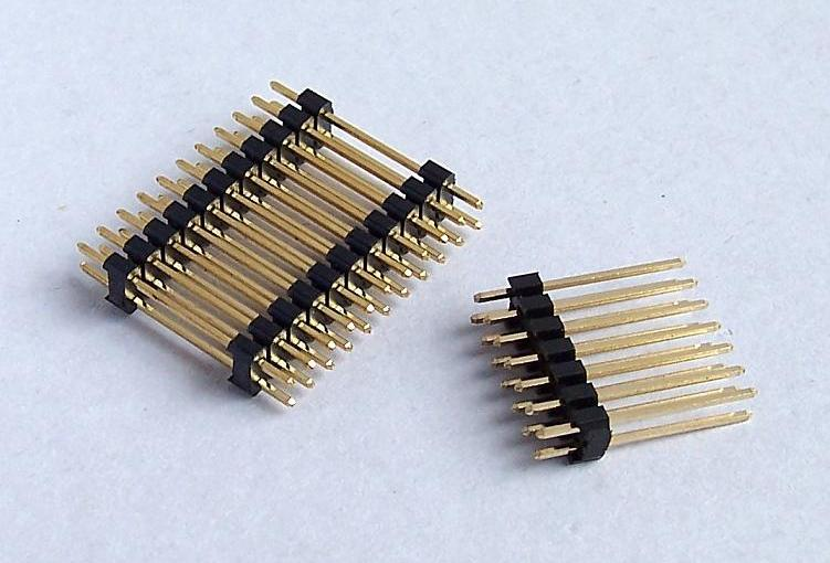 Quality and application areas of pin headers