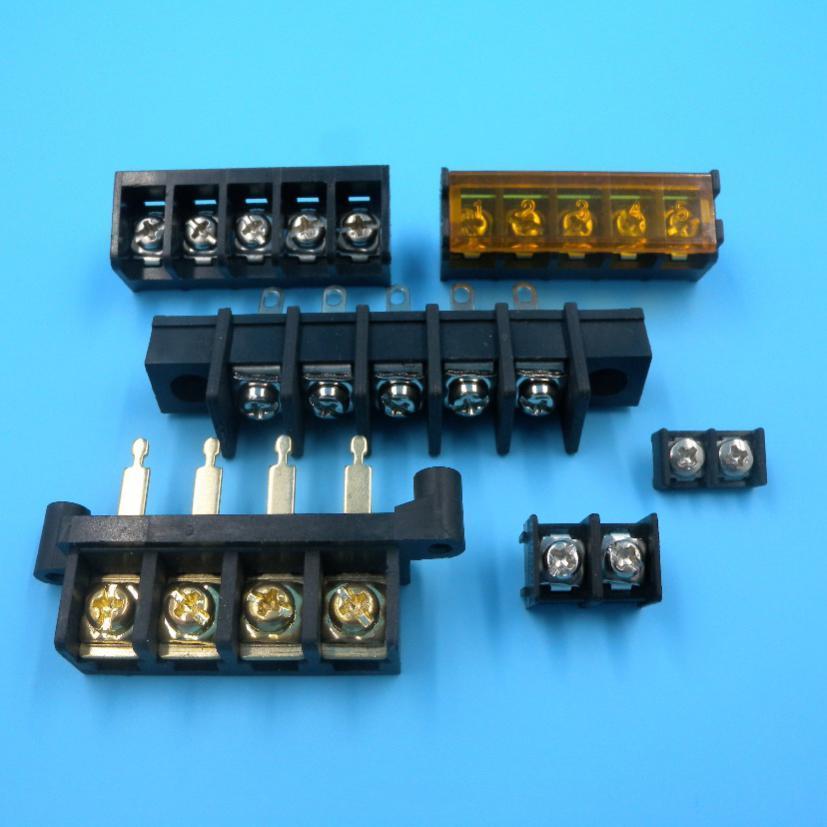 The wiring terminal of spring type