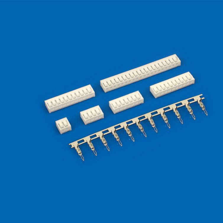 The main spacing of the board to board connector
